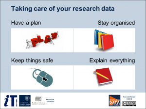 Taking care of your research data